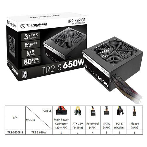 Thermaltake TR2 S 650W